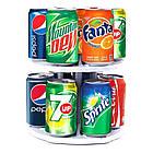 Органайзер для холодильника CAN TAMER | вращающаяся подставка для банок и консерв, фото 9