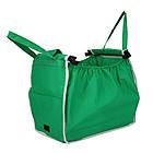 Складная хозяйственная сумка для покупок Grab Bag (2 шт.) Snap-on-Cart Shopping Bag, фото 7
