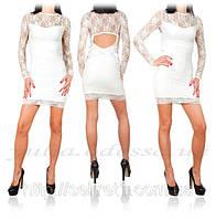 Платья с гепюром