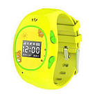 Розовые детские часы с GPS-трекером G65   смарт часы   умные часы, фото 4