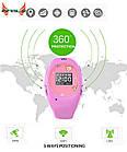Розовые детские часы с GPS-трекером G65   смарт часы   умные часы, фото 5