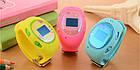 Розовые детские часы с GPS-трекером G65   смарт часы   умные часы, фото 9