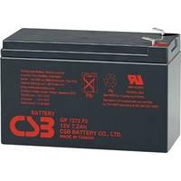 Аккумуляторная батарея CSB GP1272F2, 12V 7,2Ah (28W)   Q10