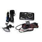 Автомобильный видеорегистратор H528 2 камеры   авторегистратор   регистратор авто, фото 2