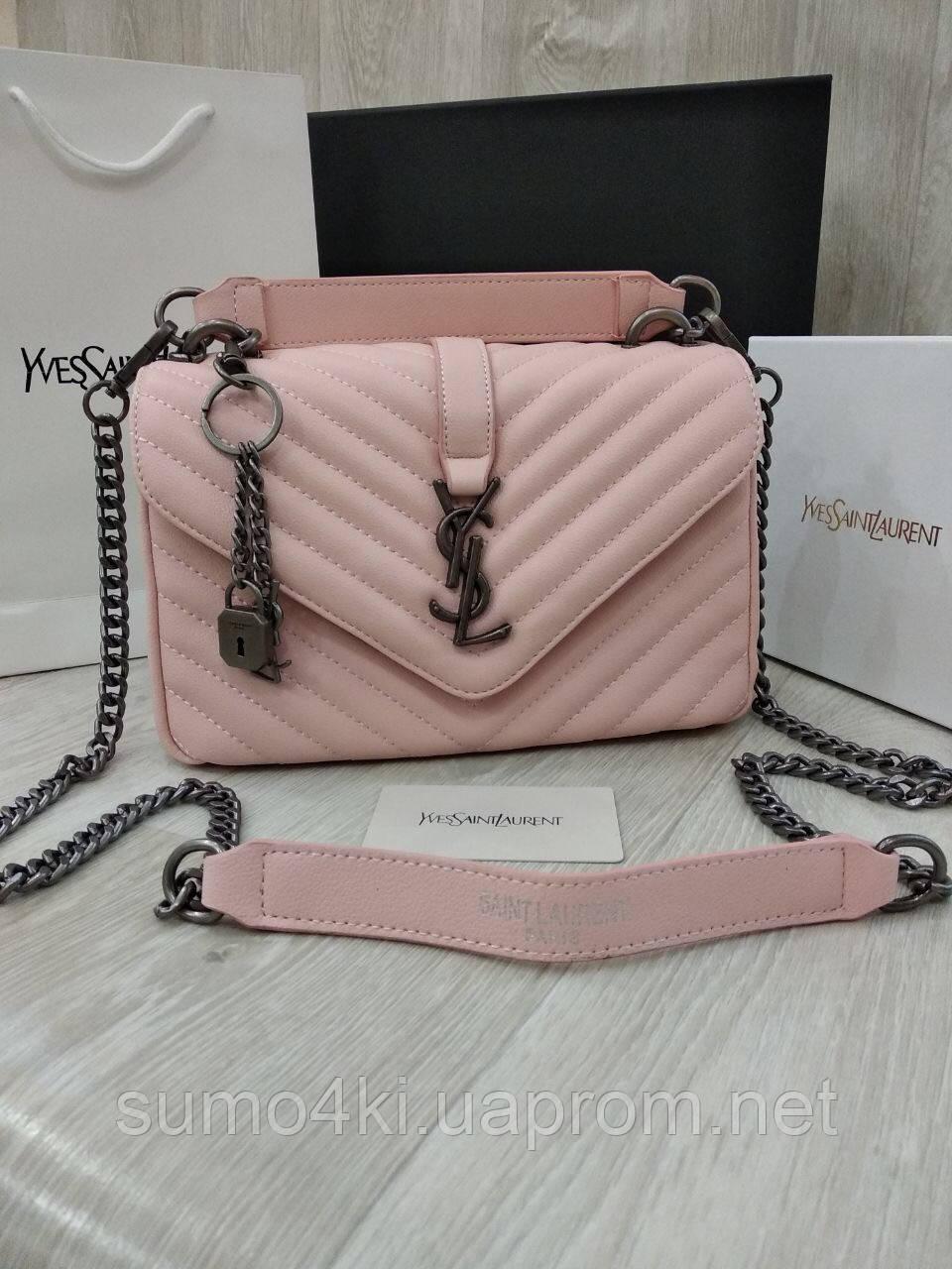 6e33c14401f6 Женская стильная маленькая сумка Yves Saint Laurent YSL - Интернет-магазин  «Галерея Сумок»