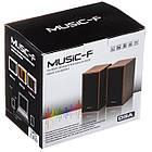 Компьютерные колонки акустика Music-F D9a   профессиональные акустические мощные колонки   музыкальная колонка, фото 3