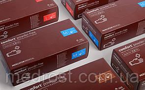 Латексные нестерильные неопудренные NITRYLEX (POWDER-FREE) S