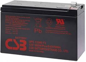 Аккумуляторная батарея CSB GP12120F2, 12V 12Ah Q6