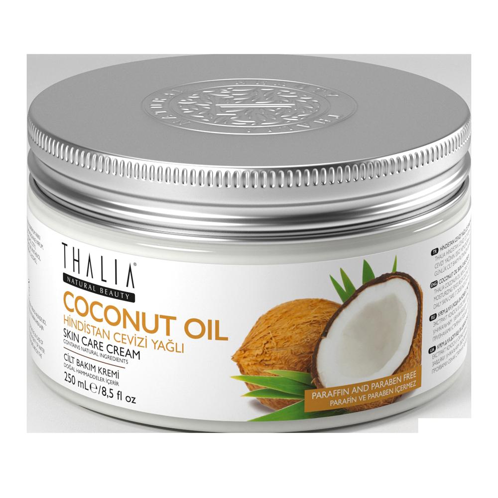 Крем для лица и тела питательный с кокосом THALIA, 250 мл