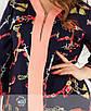 Костюм-двойка из блузы с принтом и брюк со стрелками, фото 6