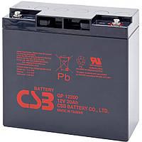 Аккумуляторная батарея CSB GP12200, 12V 20Ah