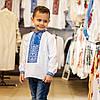 Вышивка для мальчика с классическим орнаментом, фото 3
