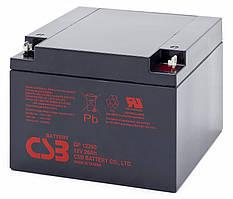 Аккумуляторная батарея CSB GP12260, 12V 26Ah