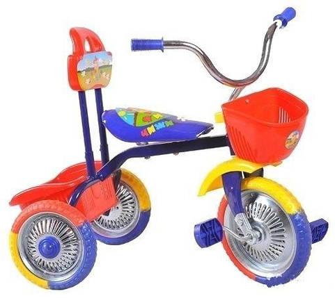 Детский трехколесный велосипед   Т001, фото 2