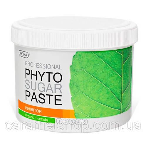 Фито паста для шугаринга АЮНА INHIBITOR, замедляющая рост волос умеренно мягкая Soft Plus № 2, 800 г