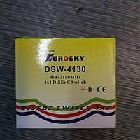 Спутниковое оборудование DISEqC 1×4 Eurosky в кожухе