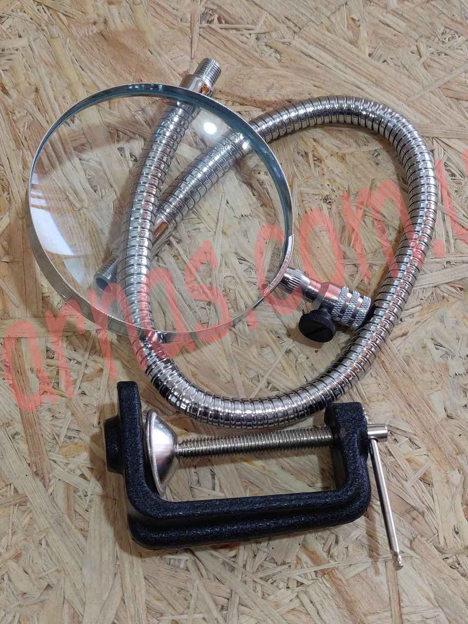 Лупа на струбцині Flexible Neck Magnifier 15123