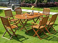 Набор деревянной мебели BOSTON Стол + 6 стульев