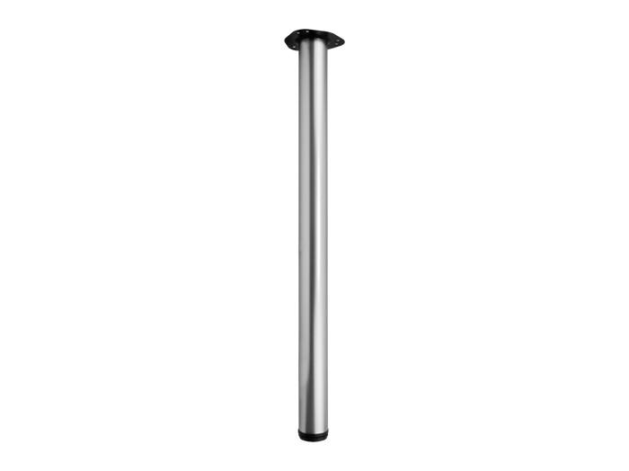 Опора (ніжка) для столу регульована GIFF RONDELLA 60/710, 820, 1100 матовий хром