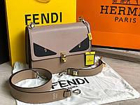 Кожаная сумочка Fendi Фенди, фото 1