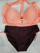 Купальник персиковый 566998 Розали на 52 размер., фото 2
