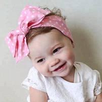 Детские повязки на голову для девочек и новорожденных