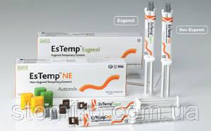 Временный безэвгенольный цемент  EsTemp NE, шприц 10г