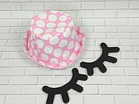 Хлопковая панамка от солнца размер 48-50 см