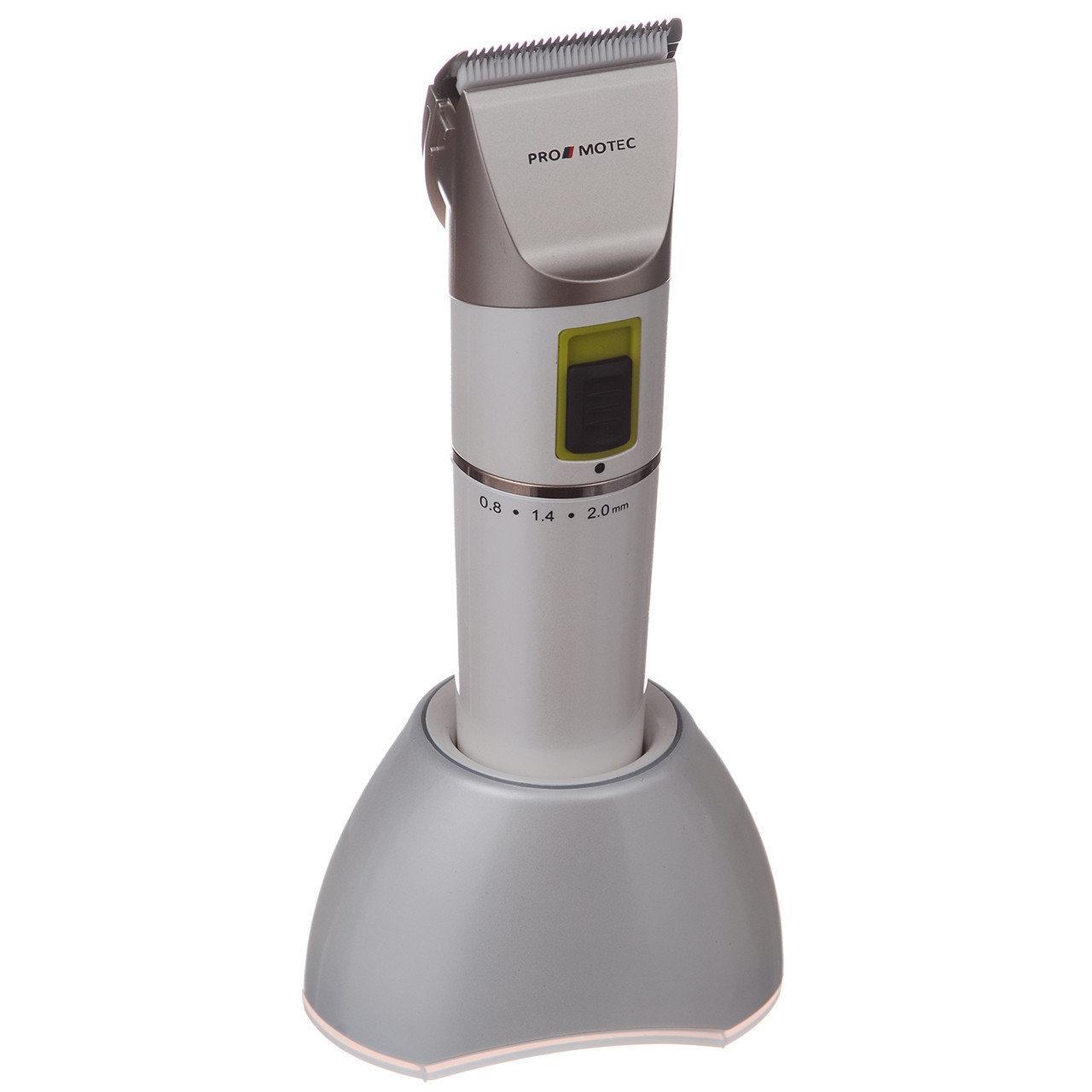 Машинка PROMOTEC PM-351, для стрижки волос, аккумуляторная