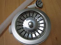 Евро вентиль с переливом для кухонной мойки