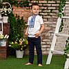 Футболка вишиванка для мальчика, фото 4