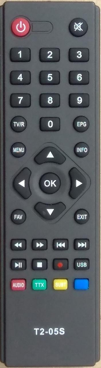 Пульт от тюнера эфирного цифрового телевидения Т2 OPEN BOX T2-05