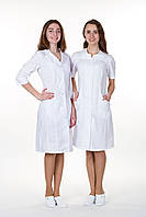 Женский медицинский халат София (справа) батист, фото 1