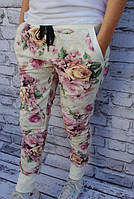 Модные брюки цветочный принт