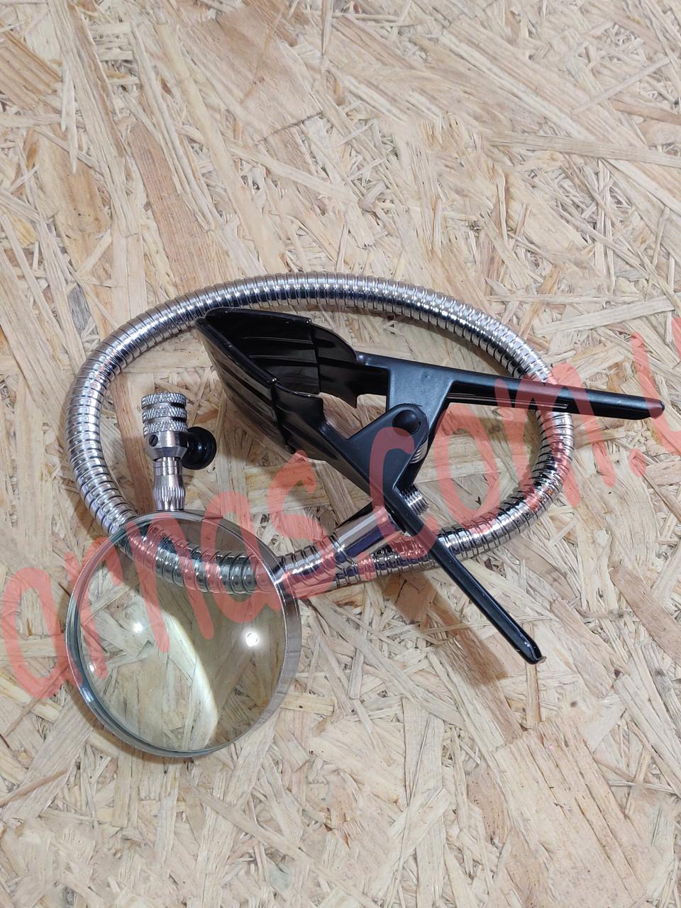 Лупа настільна на прищіпці Flexible Neck Magnifier 15120