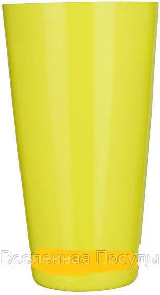 "Шейкер""Бостон""жёлтого цвета H 175 мм (шт)"