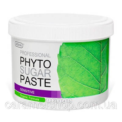Фито паста для шугаринга АЮНА SENSITIVE для чувствительной кожи средней плотности Medium № 3, 800 г