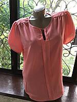 Блузка женская Персиковый Б/У