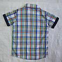 Річний комплект-3-ка для хлопчика: сорочка, футболка та шорти (Угорщина), фото 3