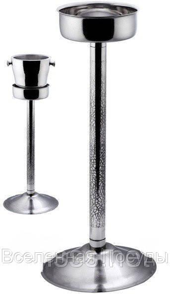 """Подставка {стойка}""""Ethching""""нержавеющая под ведро для шампанского H 630 мм (шт)"""