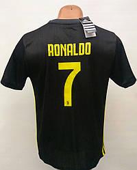 Распродажа формы Ronaldo/уценка женской формы 110-135 см в стиле Adidas Juventus Ronaldo/Ювентус графит/Юве