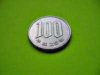 Япония 100 йен 2013 г. Эпоха Акихито (Хэйсэй) (1989 - 2018)