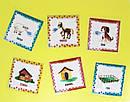 Дитячі англійські карточки з тваринками Farm animals, фото 5