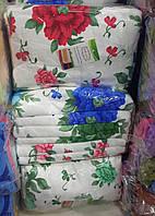 Банные полотенца «Яркие цветы» микрофибра(6 шт)