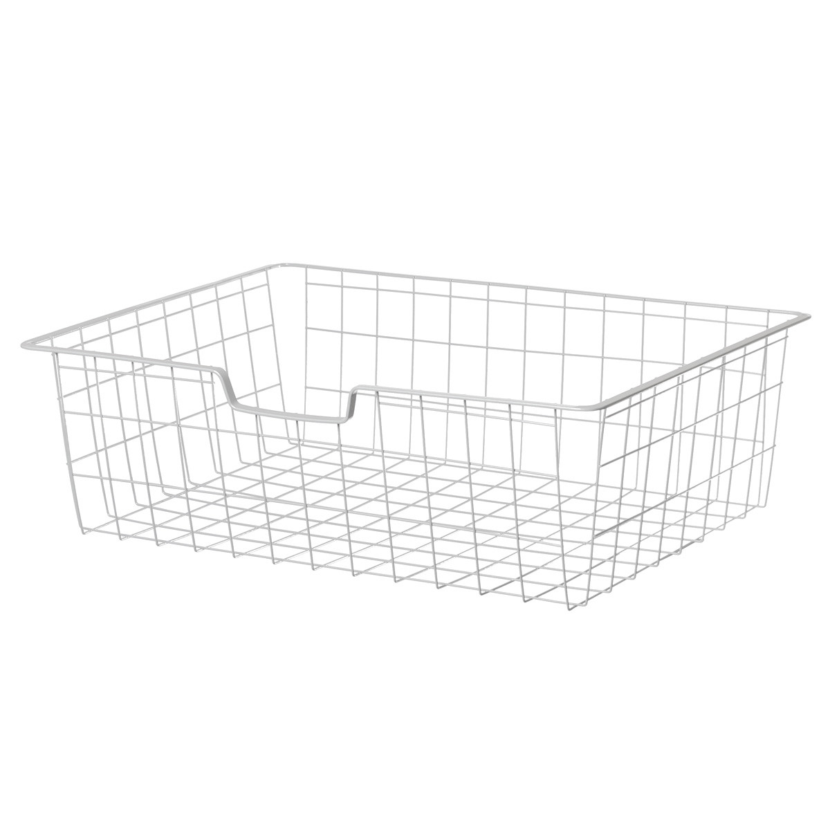 Корзина для гардеробной системы Larvij  белая 588×424×180мм L9540WH