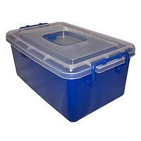 ✅ Контейнер пластиковый большой Gigo синий (1140BB)