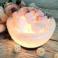 Соляная лампа «Чаша огня» 3-4кг