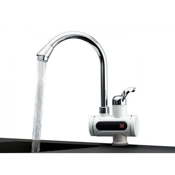Проточний водонагрівач з LCD екраном Delimano Water Heater