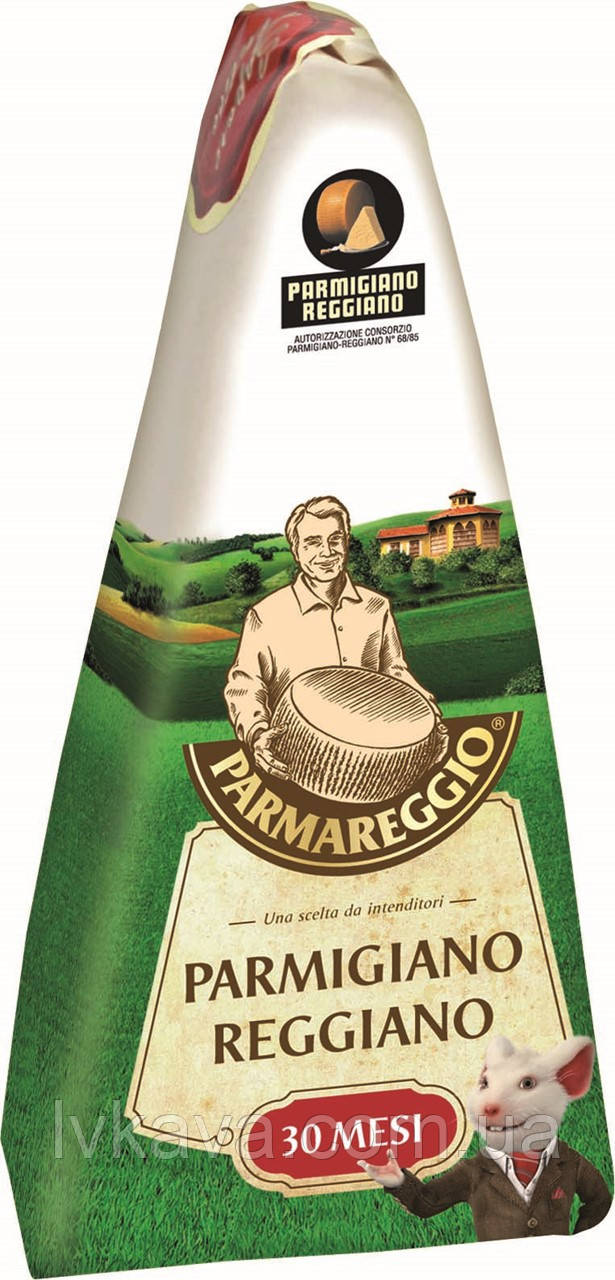 Сыр Parmareggio - Parmigiano Reggiano , 30 мес, 250 гр