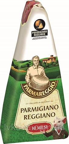 Сыр Parmareggio - Parmigiano Reggiano , 30 мес, 250 гр, фото 2